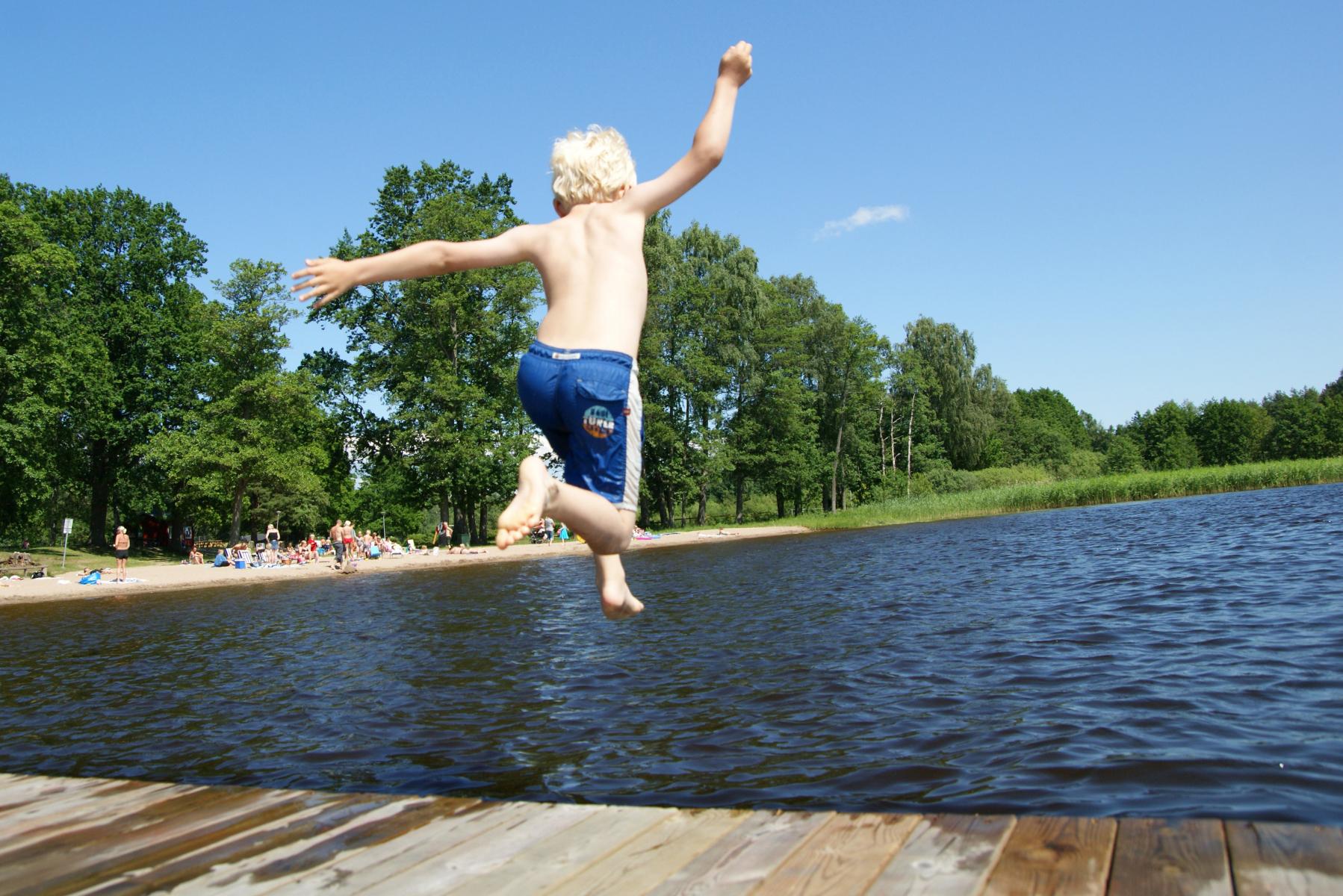 Wassersport auf dem Stausee